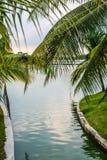 Suan Luang Rama IX公园自然亭子地标  库存图片