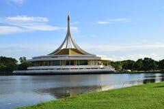 Suan Luang Rama IX, parco pubblico di ricreazione, Bangkok, Tailandia Fotografia Stock Libera da Diritti
