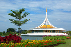 Suan Luang Rama IX Park. Suan Luang Rama IX the popular flowers park in thailand Royalty Free Stock Photo