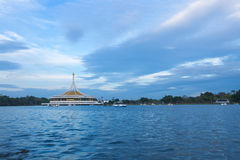 Suan Luang Rama IX. Park in the evening Royalty Free Stock Image