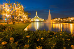 Suan Luang RAMA IX public park Royalty Free Stock Photo