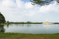 Suan Luang Rama 9 is a park,. Where the people of the city to relax Stock Image