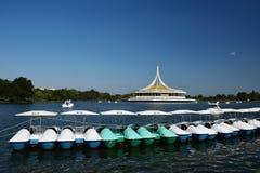 Suan Luang Rama 9 park Tajlandia, jawny park zdjęcia stock