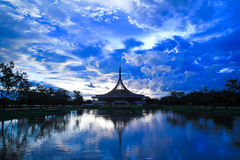 Suan Luang Rama Park. In Thailand Royalty Free Stock Photos