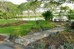 Suan Luang Rama 9 public park Royalty Free Stock Images