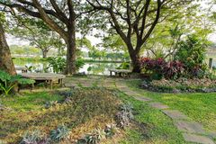 Suan Luang Rama 9 public park Royalty Free Stock Photo