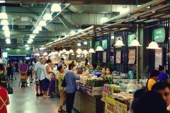 Suan luangThailand 13 november 2018 shoppinggalleria i bangkok royaltyfria foton