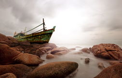 Suan Son Beach, Rayong, Thailand Stock Photos