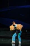 Suando a ópera de Jiangxi uma balança romana Foto de Stock Royalty Free