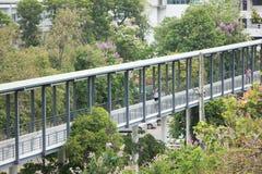 Suandok SkyWalk, spaceru sposób Między Suandok parka parking budynkiem zdjęcia stock