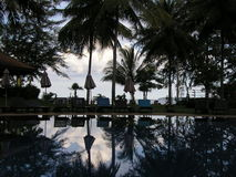 Suanluang海滩- Thaïlande 免版税库存图片