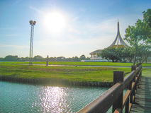 Suanluang RAMA IX Openbaar Park, Thailand Stock Afbeelding