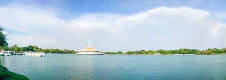 Suanluang RAMA IX Openbaar Park, Thailand Stock Foto