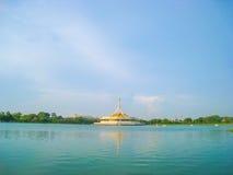Suanluang RAMA IX Openbaar Park, Thailand Stock Foto's