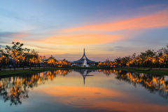 Suanluang RAMA IX Park Royalty Free Stock Images
