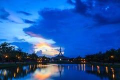 Suanluang RAMA IX Stock Photo