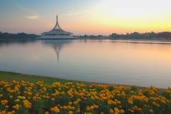 Suanluang RAMA IX public park, Bangkok, Thailand. Royalty Free Stock Photography