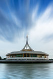 Suanluang Rama IX The public park and museum on the lake, Blue skies background. Royalty Free Stock Image