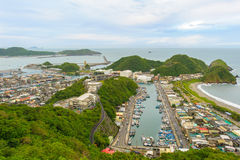 Suao Harbor in Ilan, Taiwan Royalty Free Stock Photography