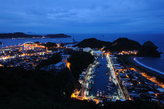 Suao Harbor in Taiwan Stock Photos