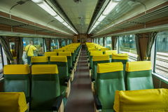 Suao new station Line train cars Royalty Free Stock Photo