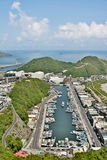 Suao port in Taiwan Royalty Free Stock Image