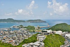 Suao port in Taiwan Stock Images