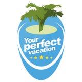 Suas férias perfeitas Fotografia de Stock