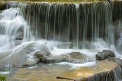 Suavidad de la cascada foto de archivo libre de regalías