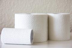 suavidad de la higiene del hogar del Retrete-papel Foto de archivo libre de regalías
