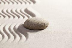 Suavidad del zen para la reflexión pacífica Foto de archivo