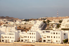 Subúrbio em Muscat, Omã Foto de Stock Royalty Free