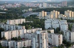 Subúrbio velho em Vilnius Imagem de Stock