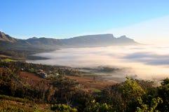 Subúrbios de Cape Town Fotografia de Stock Royalty Free