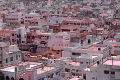 Subúrbios de Hyderabad na Índia Fotografia de Stock