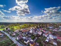 Subúrbios de Sandomierz Imagens de Stock