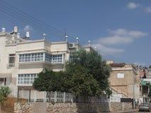 Subúrbios de Tiberias imagem de stock