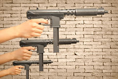 Sub-machine gun Stock Image