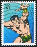 Sub-Mariner. UNITED STATES - CIRCA 2007: stamp printed by United states, shows Sub-Mariner, circa 2007 royalty free stock images