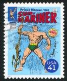 Sub-Mariner. UNITED STATES - CIRCA 2007: stamp printed by United states, shows Sub-Mariner, circa 2007 royalty free stock photo