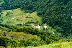 Sub Piatra Monastery Royalty Free Stock Images