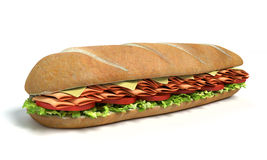Sub Sandwich Royalty Free Stock Photo