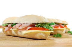 Sub sandwiches Royalty Free Stock Photography