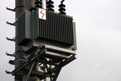 Sub-station do transformador foto de stock royalty free