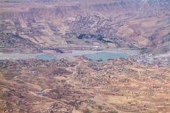 Sub Stedelijk van het gebied van Kaboel, Afghanistan-zuid Azië stock foto's