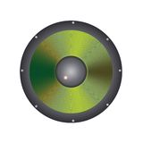 Sub Woofer Speaker Stock Image