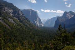 Subalpine terrain meadows and high granite mountains Yosemite National Park Royalty Free Stock Photography
