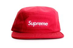 Supreme cap on white background Royalty Free Stock Image
