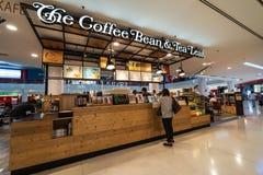 The coffee bean & tea leaf in sunway pyramid. SUBANG JAYA, SELANGOR - 25 July 2018. The Coffee Bean & Tea Leaf inside Sunway Pyramid Mall at Subang Jaya Royalty Free Stock Photos