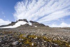 Subantarctic-Landschaft Lizenzfreie Stockfotos